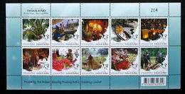 Thailand Stamp FS Definitive 2007 Amazing Thailand 1st Printing - Tailandia