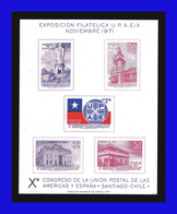 1971 - Chile - Sc. 407 / 411 - UPAE - MNH - CH- 45 - Chile