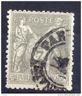 A127 YT 87 Sage 3c Gris (o)cad Paris - 1898-1900 Sage (Type III)