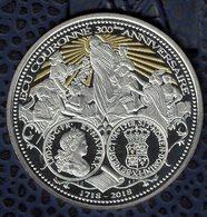 France Pièce De Monnaie Coin Écu D'Argent Couronné Louis XV 300ème Anniversaire - Commémoratives