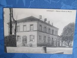 Girecourt . Maison D Ecole Et Mairie - Sonstige Gemeinden