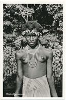 SURINAM, Nu Ethnique - Teenager Bushnegress - Carte En L'état - Surinam