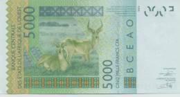 WEST AFRICAN STATES P. 717Kj 5000 F 2012 UNC - Sénégal
