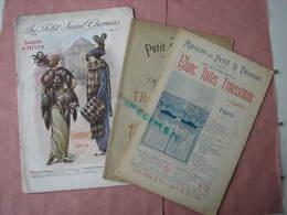 Maison Du Petit St. Thomas Catalogue Hiver 1913/14- 1 Cata Trousseau  Layette- 1 Cata Blanc Toiles 1900 - 1900-1940