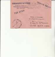L3 - Enveloppe Gendarmerie  ST DENIS (Réunion) - Drogue Alcool - Marcophilie (Lettres)