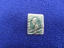 United States Stamp, Scott #136,  1870-71, Canceled & Hinged - Used Stamps