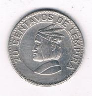 20 CENTAVOS  1967 HONDURAS /0123/ - Honduras