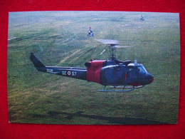 CARTOLINA ELICOTTERO  AGUSTA  BELL 204 B - Helicopters