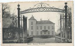 Hove - Kasteel Wijninck - Uitg. Fr. Sleegers - Hove