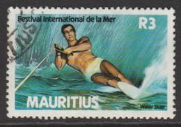 Mauritius 1987 Festival Of The Sea 3 R Multicoloured SW 668 O Used - Mauritius (1968-...)