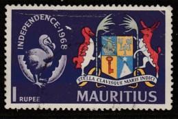 Mauritius 1968 Independence 1 R Multicoloured SW 337 O Used - Mauritius (1968-...)