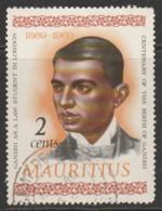 Mauritius 1969 The 100th Anniversary Of The Birth Of Mahatma Gandhi, 1869-1948 2 C Multicoloured SW 368 O Used - Mauritius (1968-...)