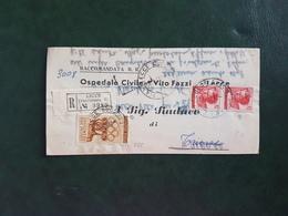(14228) STORIA POSTALE ITALIA 1961 - 1946-.. République