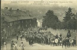 08 Ardennes MONTHERME La Basse Rowa Concours De Péche 8 Juillet 1906 Le Défilé Trés Animée - France