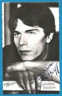 (A956) - Signature / Dédicace / Autographe Original - Laurent TERZIEFF - Acteur Et Metteur En Scène - Autographes