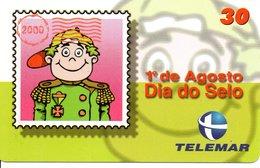 Timbre Stamp BD Militaire Télécarte Brésil Phonecard  Karte (G 45) - Timbres & Monnaies