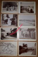 Lot Vers 1895 De 26 Photos- 9 X 12cm, Albuminées Sur Carton à Situer - Luoghi