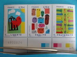 TIMBRE :T.5021 , TRIPTHYQUE Des Timbres 5021 , 5022 , 5023 , XX,en Parfait état - Nuovi