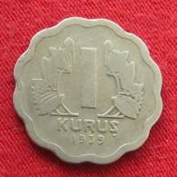 Turkey 1 Kurus 1939 KM# 867  Turquia Turquie - Turquie