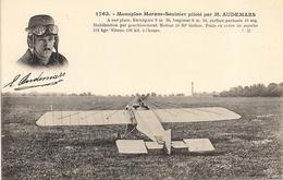 Aviation - Aviateur Suisse Edmond Audemars - Aviateurs