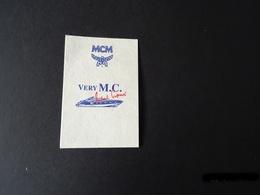 "Carte Parfumée ""VERY M.C."" De MCM - Cartes Parfumées"