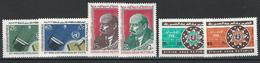 Syria. Scott # C452-57 MNH. Commemorative Stamps. 1970 - Syrië