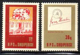 XP4014 - ALBANIA 1986 , Yvert Serie N. 2115/2116  ***  Partito Comunista - Albania