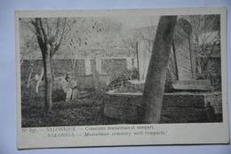 SALONIQUE-cimetiere Musulman Et Rempart - Greece
