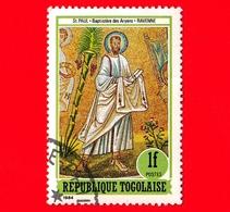 TOGO - Nuovo Oblit. - 1984 - Affresco Del Battistero Degli Ariani, Ravenna - Gli Apostoli Martiri - San Paolo - 1 - Togo (1960-...)