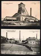 MEGECOSTE (commune De Ste. Florine): Lot De 2 Belles Cartes Sur Les Verreries De Mégecoste - France