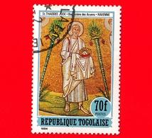 TOGO - Nuovo Oblit. - 1984 - Affresco Del Battistero Degli Ariani, Ravenna - Gli Apostoli Martiri - San Giuda Taddeo - 7 - Togo (1960-...)