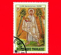 TOGO - Nuovo Oblit. - 1984 - Affresco Del Battistero Degli Ariani, Ravenna - Gli Apostoli Martiri - San Giovanni - 200 - Togo (1960-...)