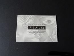 """Carte Parfumée """"REALM."""" - Cartes Parfumées"""