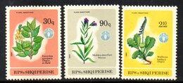 XP4017 - ALBANIA 1987 , Yvert Serie N. 2140/2142  ***  Fiori - Albania
