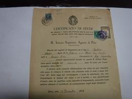 PISA  -- MARCA DA BOLLO  UNIVERSITA'  --FISCALI  ---L.  3,00 - Fiscales