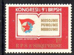 XP4019 - ALBANIA 1987 , Yvert Serie N. 2153  ***  Giovani - Albania