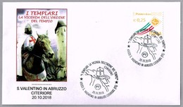 LOS TEMPLARIOS - Knights Templar - Les Templiers. S. Valentino In Abruzzo Citeriore, Pescara, 2018 - Historia