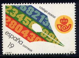ESPAGNE - 2520** - CODE POSTAL - 1931-Aujourd'hui: II. République - ....Juan Carlos I