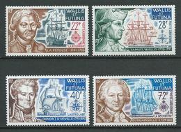 WALLIS ET FUTUNA 1973 . Poste Aérienne . Série  N°s  44 à 47 . Neufs  ** (MNH) . - Airmail