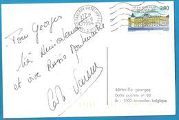 (A977) - Signature / Dédicace / Autographe Original - Carole VARENNE - Radio Montmartre - Autographes