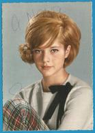 (A978a) - Signature / Dédicace / Autographe Original - Sylvie Vartan - Autographes