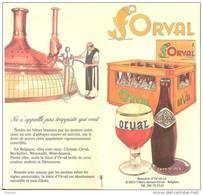 Orval-Feuillet Publicitaire (Abbaye-bière-Trappiste-historique)-Publicité De +/-1970-Editée Par La Brasserie D'Orval - Andere Verzamelingen
