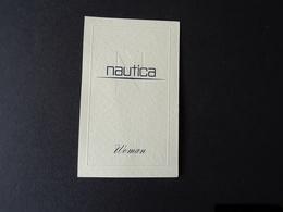 """Carte Parfumée """"NAUTICA"""" Woman - Cartes Parfumées"""