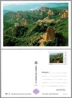 MINAS DE ORO ROMANAS: LAS MEDULAS. Patrimonio Humanidad - UNESCO World Heritage. Tarjeta Entero Postal - Minerales