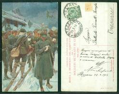 CARTOLINA - CV2181 MILITARI 1918 WW1 Cartolina Edita A Beneficio Del Comitato Lombardo Per I Soldati Mutilati In Guerra, - Guerre 1914-18