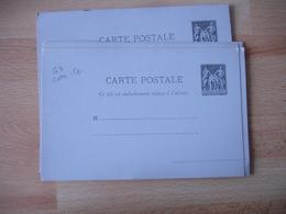 Lot De 6 Sage Couleur Violine Entier Postal Entiers Postaux - Entiers Postaux