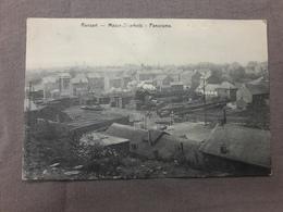 Ransart Masse Diarbois Panorama Usine Train Vapeur 1908 - Charleroi