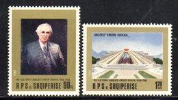 XP4028 - ALBANIA 1988 , Yvert Serie N. 2171/2172  *** Enver Oxha - Albania