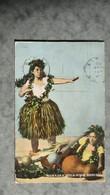 CPA-United States-USA-Hawaiian Hula-Hula Dancers - Etats-Unis