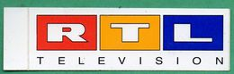 RTL TELEVISION * AUTOCOLLANT A1021 * - Autocollants